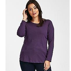 Evans - Purple long sleeve t-shirt