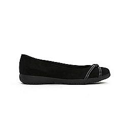Evans - Knot detail comfort flat shoes