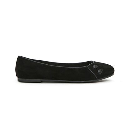 Evans - Button detail detail Button ballet pumps 765150