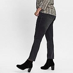 Evans - Grey straight leg jeans