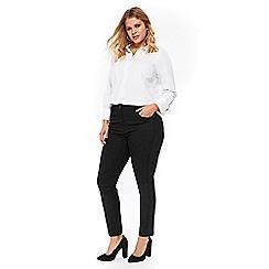 Evans - Lace side seam jeans