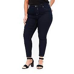 Evans - Indigo skinny jeans