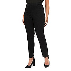 Evans - Black curve fit jeggings