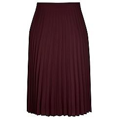 Evans - City chic pleated skirt