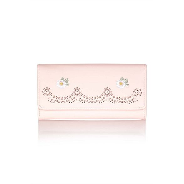 Pink Yumi Yumi embroidered embroidered flower embroidered Yumi Pink flower purse flower Pink purse purse embroidered Yumi Pink 7xTnU7q