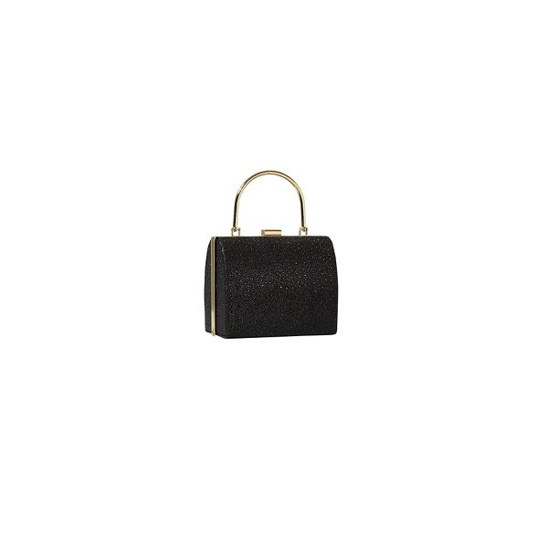 bag Yumi Yumi metallic Black metallic bag Black Black clutch Yumi clutch HxdUttwYq