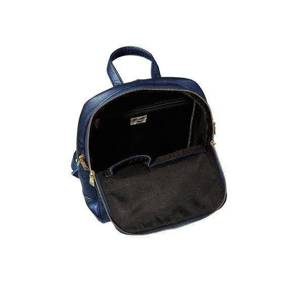 iridescent Navy Yumi iridescent Navy metallic Yumi metallic backpack XZBfFnSw