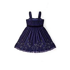 Yumi Girl - Blue sparkle star prom dress