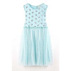 Yumi Girl - Green sparkly star prom dress