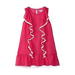 Yumi Girl - Girls' pink chiffon 'Acadia' shift dress