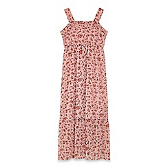 Yumi Girl - Pink country floral maxi dress