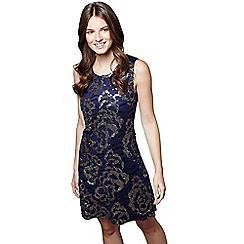 27bf41997a Mela London - Blue sequin  Kathleen  party dress