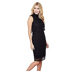 Mela London - Black layered dress 'eldoris' dress