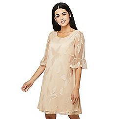 Mela London - Beige floral print 'Valera' tunic dress
