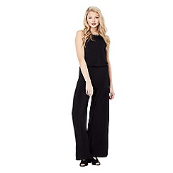 Mela London - Black embellished sleeveless jumpsuit