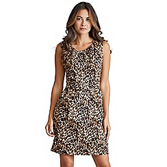 Mela London - Multicoloured leopard print  Vaniecia  tulip dress ad83c12f4