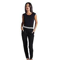 Mela London - Black embellished jumpsuit