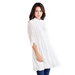 c93998a9b2c Mela London - White button down dress