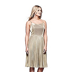 Yumi - Sparkly pleated dress