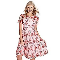 Yumi - Light pink organza 'peggy' prom dress
