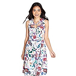 Yumi - Multi-coloured floral print 'rubi' dress