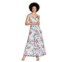 Yumi - Multi-coloured metallic 'Teresa' maxi dress