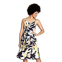 Yumi - Multicoloured floral print 'Lilli' Skater dress