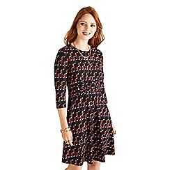 Yumi - Multicoloured geometric 'Armani' tunic dress