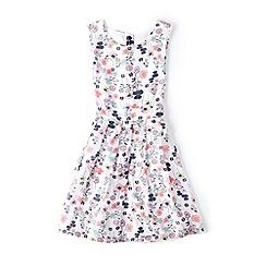 Yumi Girl - Multicoloured floral print georgette dress