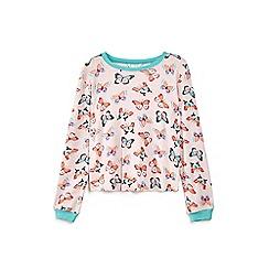 Yumi Girl - Pink butterfly pattern pyjamas
