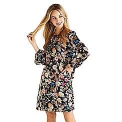 Yumi - Multicoloured floral 'Vanessamarie' tunic dress