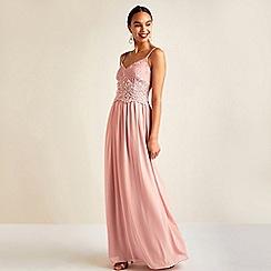Yumi - Mid Rose Party Maxi Dress