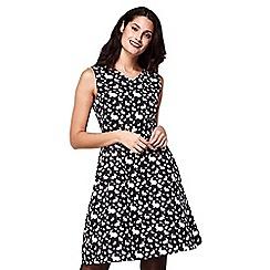 Yumi - Animal pattern skater dress