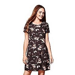 Yumi - Swirl floral print tunic dress