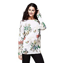 Yumi - Japanese floral print jumper