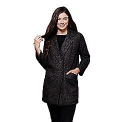 Yumi - Grey button up blazer