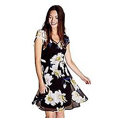 Yumi - Multicoloured floral 'ilaria' skater dress