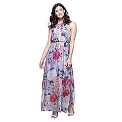 Yumi - Multicoloured floral print maxi dress