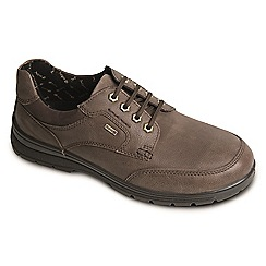 Padders - Taupe 'Terrain' waterproof leather shoes