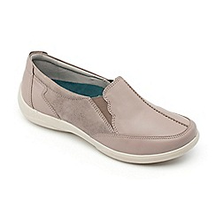 Padders - Leather 'Flute' Mid Heel Wide Fit Shoes
