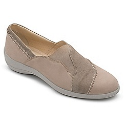 Padders - Leather 'Ruth' wide fit shoes