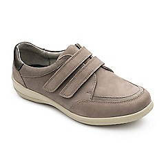 Padders - Leather 'Caitlin' wide fit shoes