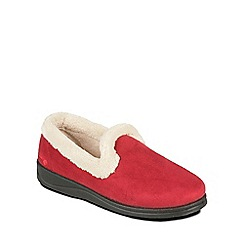 Padders - Red 'Repose' slippers