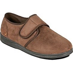 Padders - Brown 'Charles' slipper