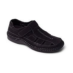 Padders - Black 'Breaker' men's fisherman sandals