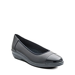 Padders - Black 'Fearne' womens pump shoes