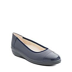 Padders - Navy 'Fearne' womens pump shoes