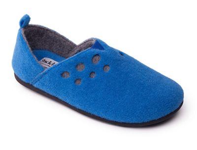 599f8a212bdb Padders - Blue  Riva  women s felt memory foam slippers