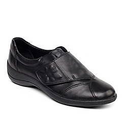 Padders - Black 'Rose' leather shoe