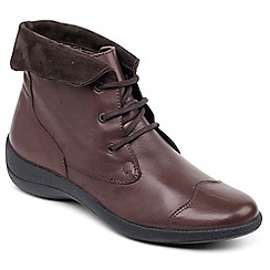 Padders - Leather 'Rebecca' Womens Lace Up Boot